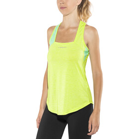 La Sportiva Dakota Tank Dame apple green/jade green